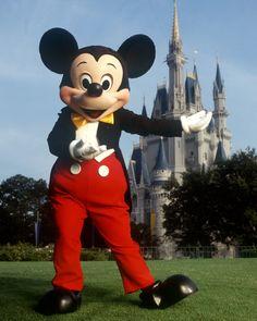 Sentirme niña de nuevo en Disneyland (y hacerme una foto con el ratoncito Mickey, muy simpático).