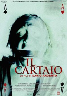 Il Cartaio - Dario Argento The poster has potential but not quite there.