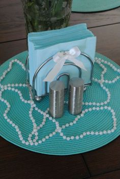 breakfast at tiffanys themed bridal shower