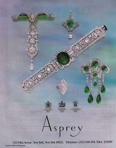 Asprey - #vintage jewelry ad
