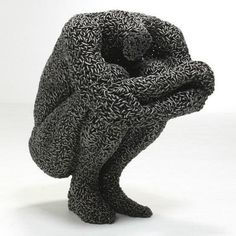 Sculptures Made From Tightly Welded Chains by Young-Deok Seo 서영덕 - Art People Gallery