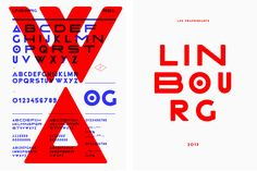 Typography - Linbourg - Les Graphiquants