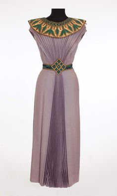 """Dorothy Kirsten """"Louise Heggar"""" Egyptian dress from The Great Caruso"""