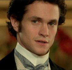 """Hugh Dancy in Daniel Deronda // Another good choice for an """"Into the Lair"""" character; could be Edmund or one of his peers. Note the high, stiff color and tie, or possibly an ascot, together with a waistcoat and topcoat. #victorian #costume"""