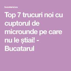 Top 7 trucuri noi cu cuptorul de microunde pe care nu le știai! - Bucatarul Top, Spinning Top, Crop Shirt, Blouses
