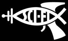 Sci-fi: a Jesusfish raygun parody / Boing Boing