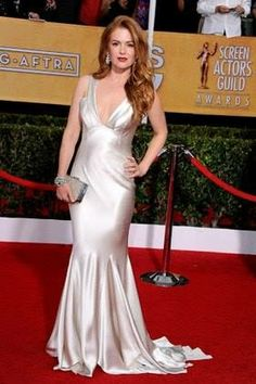 SAG Awards 2014 - Isla Fisher IN OSCAR DE LA RENTA