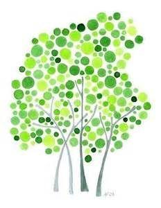 插画素材:会开花的幸福树 - 图片