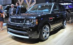 2012 New York: Land Rover shows-off special edition Range Rover Sport