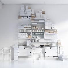 5 simple minimalist shelving solutions