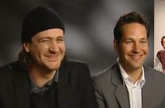 Apparently, during the I Love You Man media push in 2009, co-stars Paul Rudd and Jason Segel got very, very stoned before show time. The result was impressive