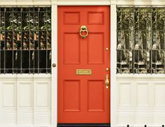 Make a bold statement this year with a brilliant, fresh coat of Coral Radiance on your front door!