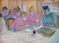 Henri de Toulouse-Lautrec 030 - Museo de Bellas Artes de Budapest - Wikipedia, la enciclopedia libre