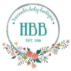 Hannah's Baby Boutique. Baby gown in sizes 0-3 Months and 3-6 Months. Shop top knot hat, no scratch mittens, bow headband, and pacifier holders
