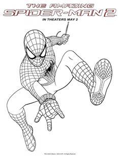 ausmalbilder spiderman zum ausdrucken | malvorlagen zum ausdrucken, ausmalen, spiderman