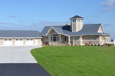 Experience a bird's eye view in this new Van's Lumber home along Lake Michigan in Kewaunee!