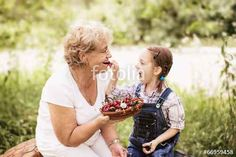 """Download the royalty-free photo """"grandparents"""" created by kolinko_tanya at the lowest price on Fotolia.com. Browse our cheap image bank online to find the perfect stock photo for your marketing projects!"""
