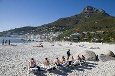 La #plage de #Clifton. #AfriqueDuSud