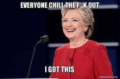 Funniest Presidential Debate Memes: Everyone Chill Out