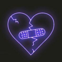 Broken Heart (Hit The Plug) - Neon Light Effect Sign. @boujeebaddie