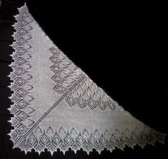 Princess Swan Shawl. Pattern originally in Russian, I think, but there is an English translation.