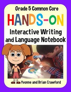 Interactive Writing and Language Notebook Hands-On Fifth Grade - $