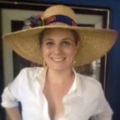 My panarama hat and happy