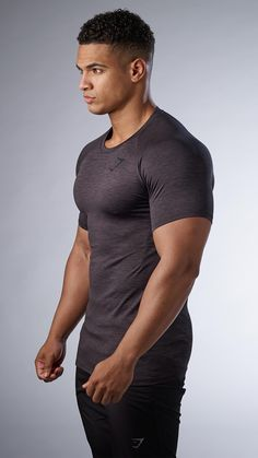 The Apex T-shirt makes extreme effort seem effortless. Now with a beautiful soft blend fabric, the Apex T-shirt is a must have workout addition. #menst-shirtsgym