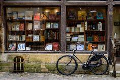 Bookstore in Chinon, France