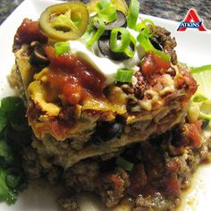 #LowCarb doesn't mean you can't have a variation of your favorite dishes! Like this Mexican Cabbage Lasagna - perfect for phases 2-4!