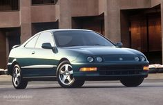 ACURA Integra GSR. That little beast was quick.