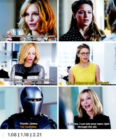 Cat Grant is smarter than she seems