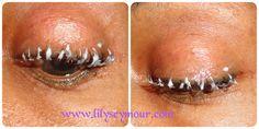 How I Straighten my Eyelashes