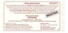 Essen gehen im Uptown Lübeck