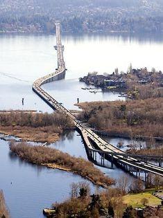 Highway 520 floating bridge