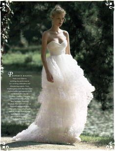 I think I could get married in this.