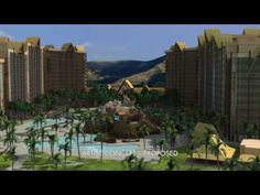 Disney Aulani aerial artist concept - the real thing is amazing too! and only 1/2 mile from the villa :-)