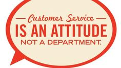 Someone who is concerned about the customer service they receive must read further to learn what is happening in the field