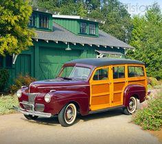 41 Ford Woodie