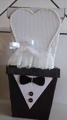 Caixinhas noivo e noiva!!!