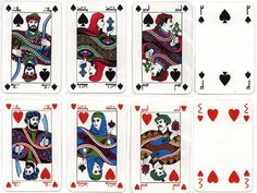 Very flowing design American Card, Penguin Love, Arabic Art, Deck Of Cards, Aerobics, Tarot Cards, Occult, Art Lessons, Card Games
