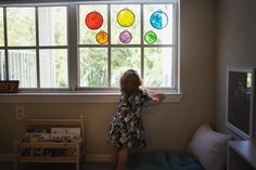"""Educating Emery on Instagram: """"**DIY** Cellophane fun! 🌈 We were inspired by @acraftyliving to make these cellophane embroidery hoops! I let Emery carry them around for a…"""" Embroidery Hoops, Montessori, Carry On, Summer Dresses, Inspired, Fun, Instagram, Fashion, Moda"""
