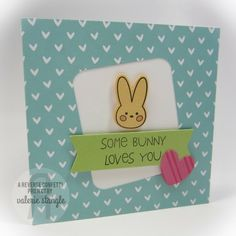 Reverse Confetti | Carton Cuties, So Stripey, Quirky Cuties: Bebe Bunny, Tag Me Die, Love Notes Die, Class Act Confetti Cuts [Just Because, Thinking of You Card, Punny]