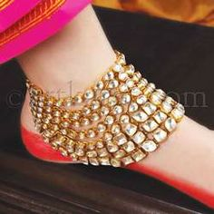 royal anklet! #bride #jewelry #payal