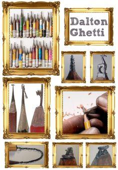 Dalton Ghetti, carver of pencil lead.