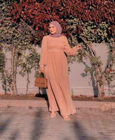 Chic Hijab Fashion Summer Long Dresses - Image:@fatiyass.officiel - Need Some Long Sleeve Summer Dresses With Hijab Outfit Ideas, Then You've Come To The Right Place - Long Sleeve Summer Dresses - Casual Dresses - Simple Street Style Dresses With Hijab - Maxi Dresses Hijab Style - Classy Dresses With Hijab Fashion - Garden Party Dress With Hijab Fashion - Hijab Dress Party -Hijab Prom Dress #hijabfashion #hijaboutfit #hijab fashion inspiration #longdress #dubaifashion