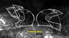 Der neue Touratech Klapphelm Aventuro MOD