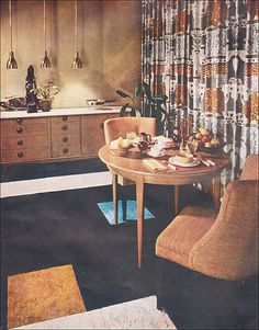 1955 Living - Dining Area