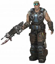 NECA Gears of War 3 Series 2 Action Figure Damon Baird Lancer, Wrench Screwdrivers by NECA Toys. $24.95. The long awaited sequel to the 12+ million selling Gears of War franchise releases and we have a brand new line of figures to commemorate this monumental occasion. Sculpted all new from the ground up, these are the most articulated and detailed Gears of War figures to date. Featuring over 30 points of articulation, character specific weapons, and all new co...