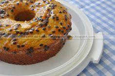 Bolo de maracujá - bolo moleza de preparar, e que fica uma delícia!